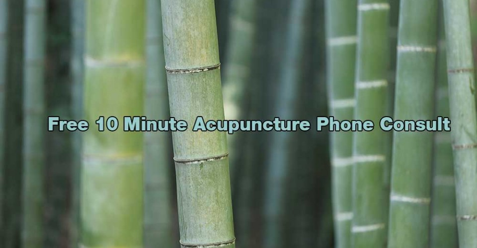 Call for Free Hillcrest Acupuncture Consult